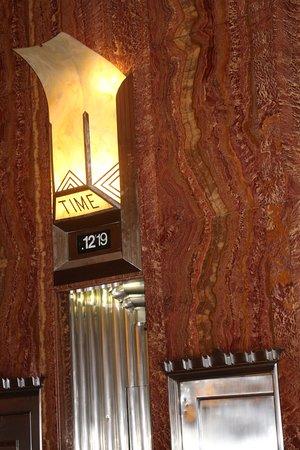 Chrysler Building: Clock