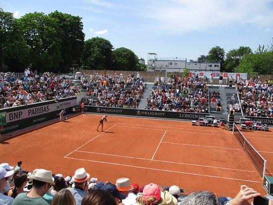 Stade Roland Garros: Great court atmosphere