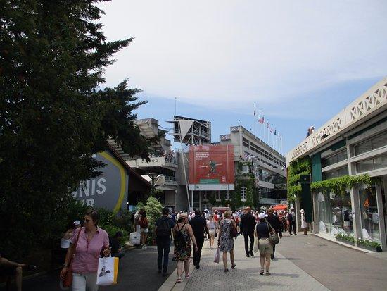 Stade Roland Garros: Main entrance..xx