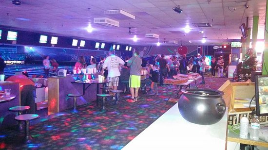 Salisbury, NC: More night time mystic bowling