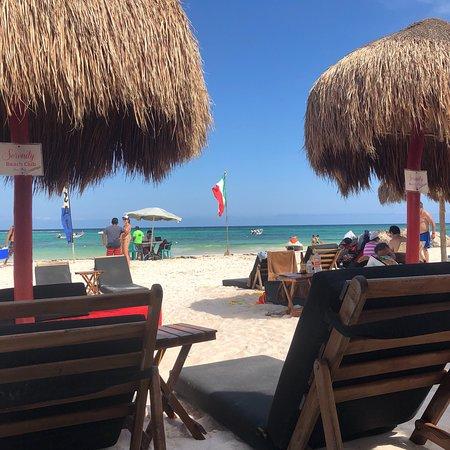 Puerto Aventuras, Meksika: Esta playa nos encanto! Por ser de Vzla somos exigentes con el color del agua pero Xpu-ha es esp