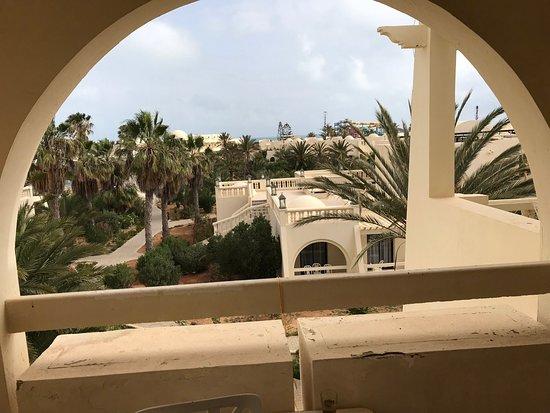 Djerba Aqua Resort : Vue depuis la terasse d'une chambre