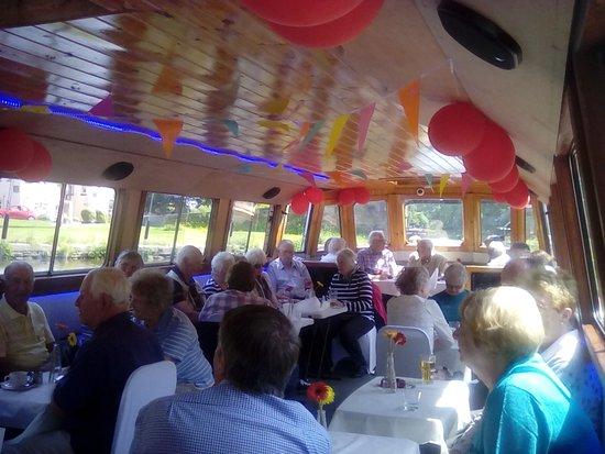 Kittywake Canal Cruises: My group enjoying the afternoon cruise.