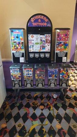 Regal Crossroads Stadium 20 & IMAX: Candy and gumballs.