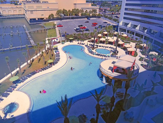Hard Rock Hotel & Casino Biloxi: The view from the 6th floor