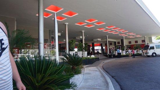 Hotel Riu Bambu: Reception area