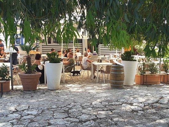 Bar Nettuno: Terrasse