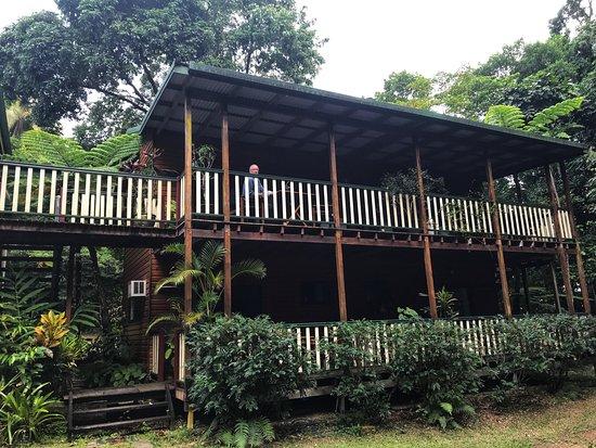 Red Mill House in Daintree: het B&B deel van het huis