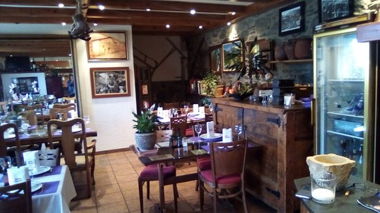 Casa Rural Borda Patxeta: restaurant