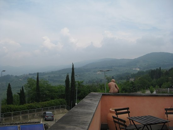 Residence Fiesole: View from our terrace
