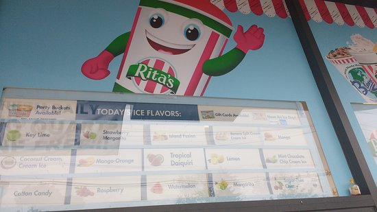 Middlesex, NJ: Selection of ices