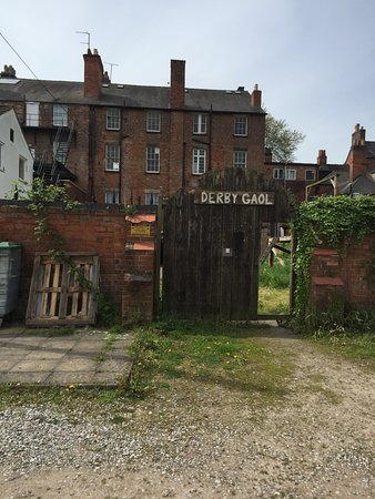 Derby, UK: The entrance - from AGARD St. (Not Friar Gate!)