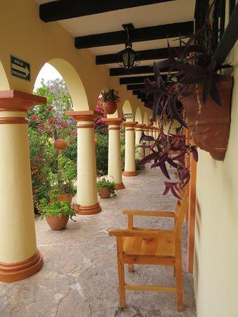 Hotel Rincon del Arco: Particolare del patio