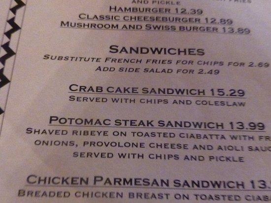 Potomac Grille