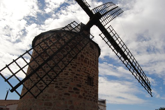 Banos de la Encina, Spanien: Molino de viento del Santo Cristo XVIII