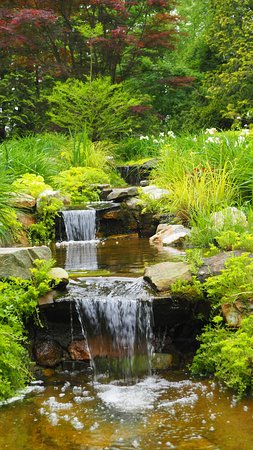 Ladew Topiary Gardens: small waterfalls