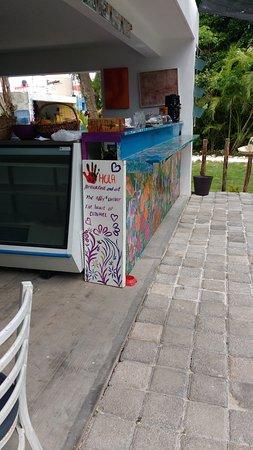 Counter at El Rincon De Addy's