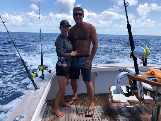 Dragin Fly Fishing Charters: Valintines Day 2018 3 sails 1 blue marlin