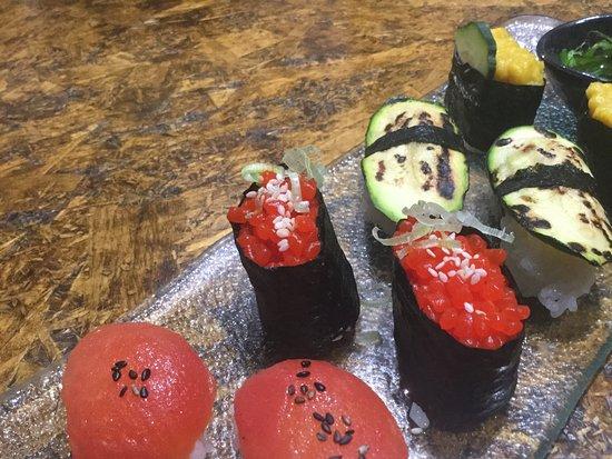 RamenGirl by EnotecaLuca Firenze: Sushi 🍣 vege