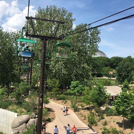 Henry Doorly Zoo: Fun Skyway.  Babies.