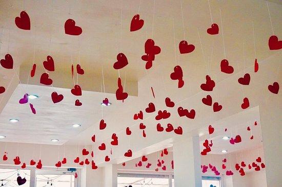 Nuestra Decoracion Por San Valentin Picture Of Super Burger - Decoracion-san-valentin