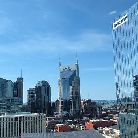 Omni Nashville Hotel : Great view from our room.  Wonderful stay at the Omni.  Beautiful hotel fantastic service