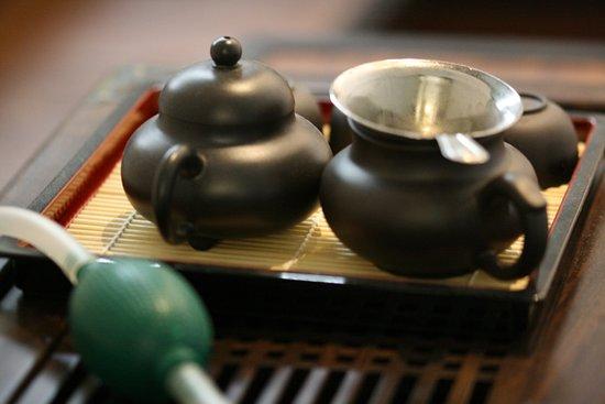 Restaurant Sushi Wan Li: Gong fu TEA
