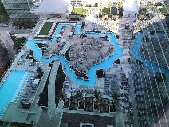 Texas Shaped Pool Picture Of Marriott Marquis Houston Houston Tripadvisor