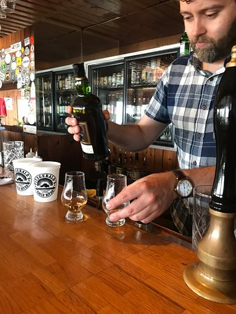 Eagle River, MI: Mike Lamotte creating a personalized whisky experience