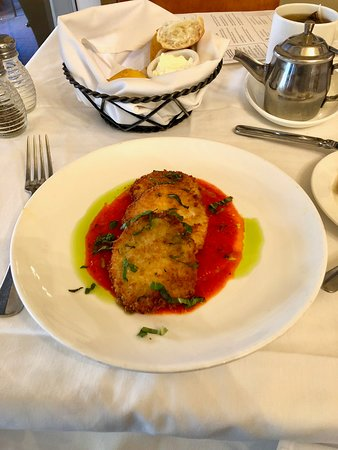 South City Kitchen Midtown: Fried Green Tomatoes