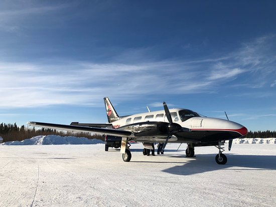 Ravn Alaska: Arrived in Fort Yukon