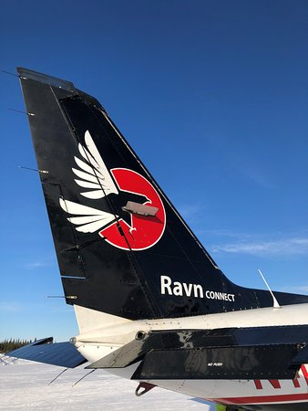 Ravn Alaska: Tail of Ravn Connect Piper Chieftan