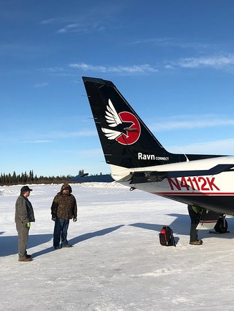 Ravn Alaska: Waiting to return from Fort Yukon