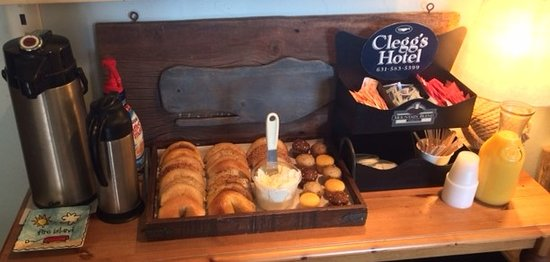 Ocean Beach, Estado de Nueva York: Free Continental Breakfast