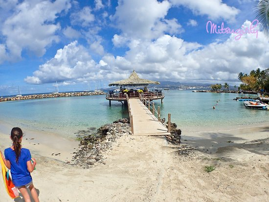 Pointe du Bout: Pointe de Bout beach
