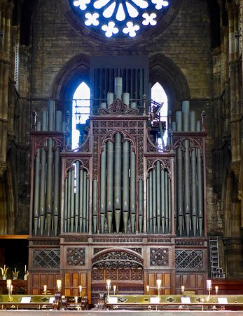 St. Mary's Cathedral: 1879 'Father' Willis Organ