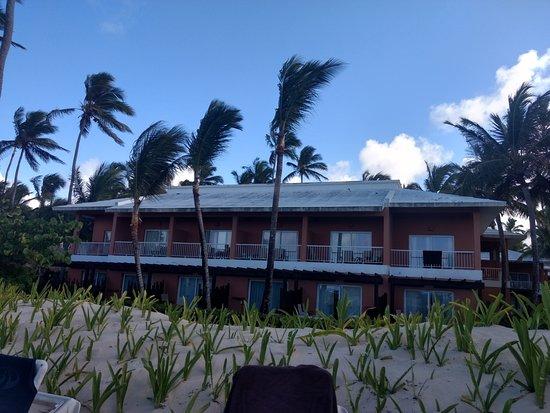 Grand Palladium Bavaro Suites Resort & Spa: esta vista da para praia