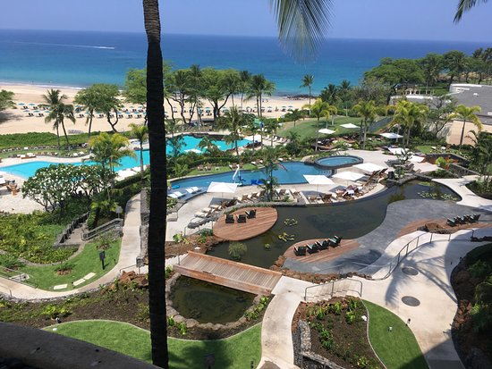 The Westin Hapuna Beach Resort : They added a 2nd pool at the top. Such a nice view!