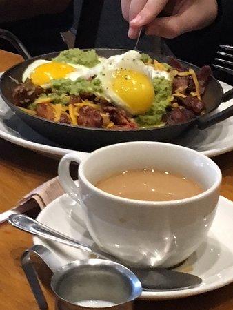 Tupelo Honey: breakfast skillet and coffee