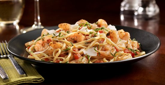 Tony Roma's: Shrimp Scampi Pasta