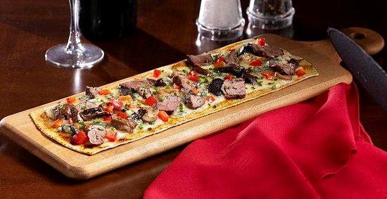 Tony Roma's: Steak and Mushroom Flatbread