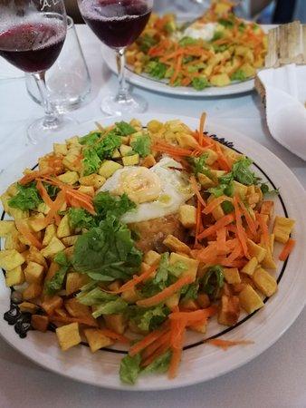 Restaurante Celeste: Bofe à celeste.