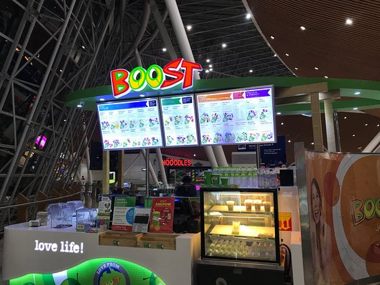 Boost Juice Bars: Boost outlet in KLIA