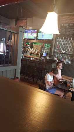 The Postmark Grille: dining area