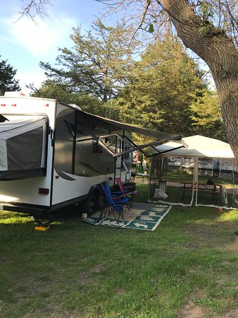 Wilderness Campground: Our end site, D24
