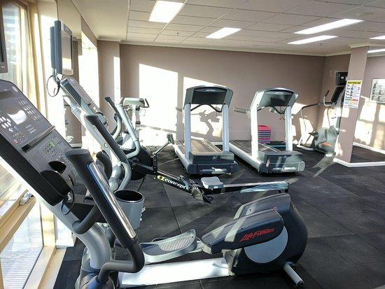 Nesuto Canberra Apartment Hotel: Upgraded Gym