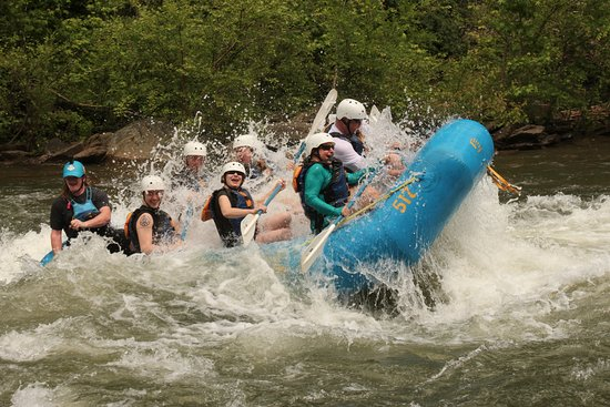 Wildwater Rafting Ocoee River Middle May 2018