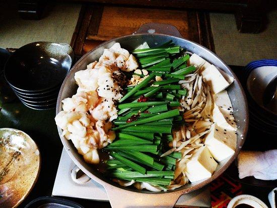 Sakanaya Danji: 博多はモツ鍋