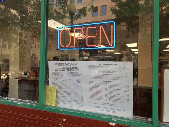 Lincoln's Waffle Shop: Lincoln Waffle Shop