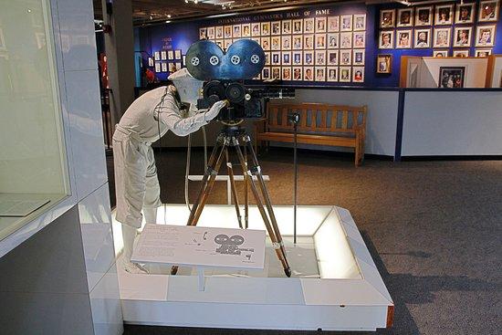 Science Museum Oklahoma: Old-time movie camera
